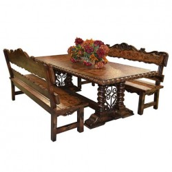 Belruse Bench Dining - Set 3