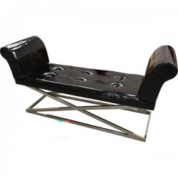 Bench - Black & Chrome
