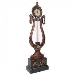 Classic Harp Floor Clock