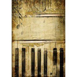 Piano Musical Sm Gallery Wrap