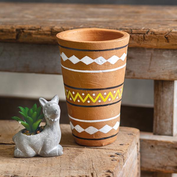 Kyra Painted Pot