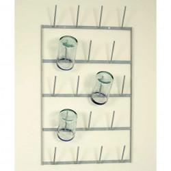 Wine Bottle Dryer Wall Rack