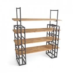 Scaffolding Bookshelf