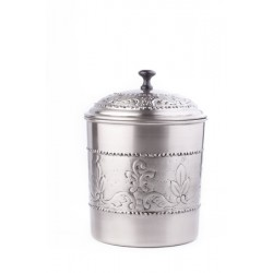 """Antique Embossed """"Victoria"""" Cookie Jar with Fresh Seal® Cover, 4 Qt"""