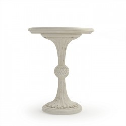 Fabiola End Table Cream